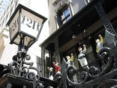 The 21 Club:  so Madmen, AND my very favorite restaurant!