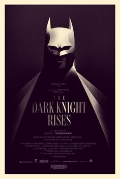 The Dark Knight Rises - Olly Moss