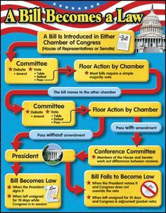 Bill Becomes a Law Chart