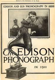 Edison phonograph in 1911