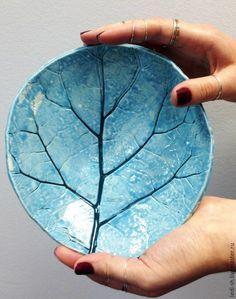 """Купить Пиала """"Лопух"""" - васильковый, голубой, бирюзовый, растительный орнамент, Керамика, керамика ручной работы"""