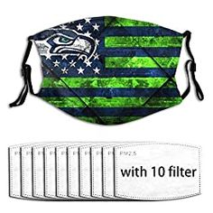 Seattle Seahawks Face Masks | SeattleTeamGear.com