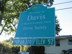 I loved my time at Davis and living there is a great memory as well, orchards of walnuts, almonds, chestnuts are just part of the scenery!