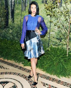 Lily Kwong in Prabal Gurung at the New Yorkers for Children Charity Gala