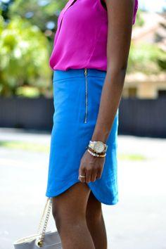 Trina Turk Skirt | Color Blocking