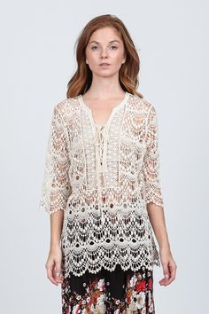 Crochet Anna Tunic on Emma Stine Limited
