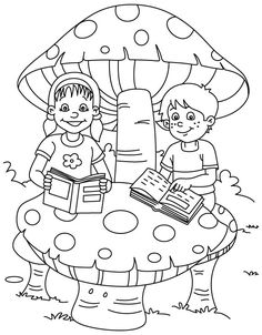 Free Printable Books Coloring Pages Colouring Pages, Coloring Pages For Kids, Coloring Books, Activities For Adults, Fun Activities, Teachers' Day, Art Drawings, Kindergarten, Clip Art