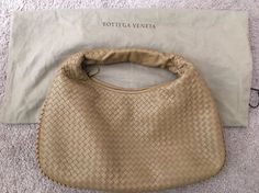 Authentic Brand New BOTTEGA VENETA Intrecciato Nappa Hobo Bag Large $2550 | eBay