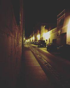Toruń no co.  #city #torun #night #sunday #street #dark