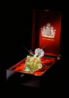 This perfume costs $215,000 a bottle of British designer