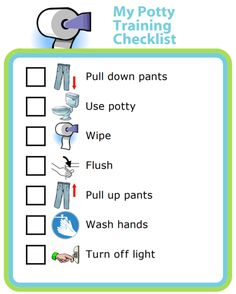 Try this free potty training checklist to help your little one learn good habits! Rules For Kids, Chores For Kids, Gentle Parenting, Kids And Parenting, Language Games For Kids, Potty Training Books, Routine Printable, How Big Is Baby, Big Baby