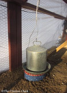 The Chicken Chick: Make a Cookie Tin Waterer Heater. Under $10, & 10 minutes in 3 steps!