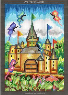Gostaria de pedir aos meus amigos que votassem em meu desenho no site da Faber Castell - http://castelodecores.faber-castell.com.br/vote/  tem que se cadastrar e digitar meu email rosangelavig@hotmail.com   muito obrigada