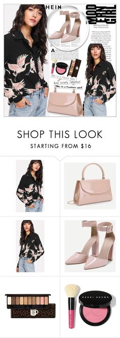 """""""Shein"""" by asmiah ❤ liked on Polyvore featuring Etude House and Bobbi Brown Cosmetics"""