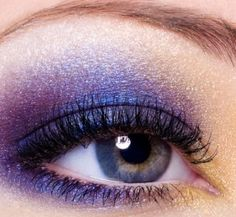Ultra Violet Smokey Eyes