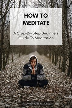 Meditation offers remarkable benefits, especially for those already using The Law Of Attraction. Start meditating today with this handy beginners guide on how to meditate. Power Of Meditation, Meditation Quotes, Meditation Music, Guided Meditation, Mindfulness Activities, Mindfulness Quotes, Mindfulness Meditation, Relaxation Techniques, Meditation Techniques