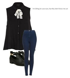 """."" by whiterabbitmadness ❤ liked on Polyvore featuring River Island and Topshop"