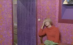 Set from The Umbrellas of Cherbourg - 1964 - French staring Catherine Deneuve