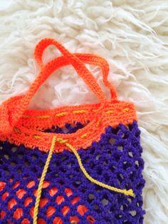 Free pattern crochet bag - www.wimketolsma.nl #diy #crochet