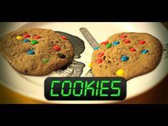Cookies no micro-ondas