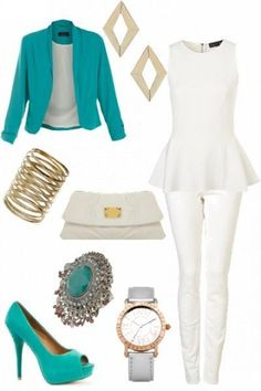 Love the ring, earrings, and clutch