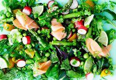 Hvilke madvarer er gode og dårlige for din tarm? Seaweed Salad, Cobb Salad, Healthy Living, Cooking, Ethnic Recipes, Food, Guide, Shape, Workout