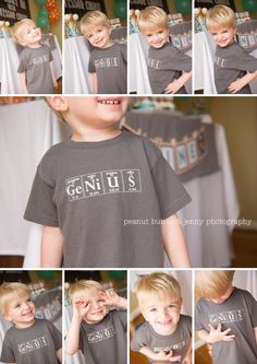 """Chuck and Hank: Charlie's """"Science Is Awesome"""" Birthday Party Mad Science Party, Science For Kids, Happy Birthday Mama, 9th Birthday Parties, Birthday Bash, Photographing Kids, Party Shirts, Birthday Shirts, Cool Kids"""