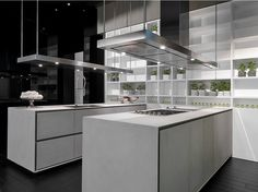 Cocina con isla ONE by RIFRA