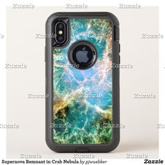6f0be3e757 Supernova Remnant in Crab Nebula OtterBox Defender iPhone X Case Crab  Nebula, Cell Phone Cases