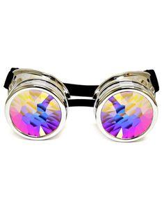 Kaleidoscope Goggles | GloFX Holographic Rave Glasses