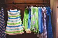 Lilly Pulitzer Spring '13- Jordan Dress in Multi Corded Organza Stripe and more