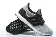 WMNS Adidas Ultra Boost 2017 PrimeKnit Grey Core Black UK Trainers 2017/Running Shoes 2017