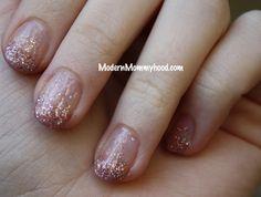 Glitter Nails tutorial