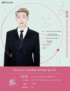 [TRANS] 2016 BTS FESTA : Our Written Profile (2016 Ver.) [160609]