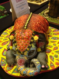 One of our favourite cakes from the Cake International Show in Birmingham…