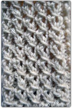 Stick O, Bra Hacks, Knitting Stitches, Diy Projects To Try, Knitting Patterns, Diy And Crafts, Knit Crochet, Cross Stitch, Embroidery