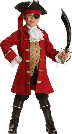 Boys Pirate Captain Costume Elite - Pirate Costumes - Boys Costumes - Halloween Costumes - Categories - Party City