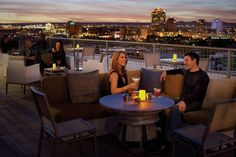 ✓Photos - Hotel Parq Central - Albuquerque Roof Top Bar