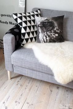 Shoe your sofa with Carl Ash / Natural. www.prettypegs.com