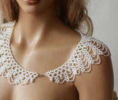 Wedding Pearl Jewelry Wedding Pearl Shoulder Wedding by ADbrdal, $69.00