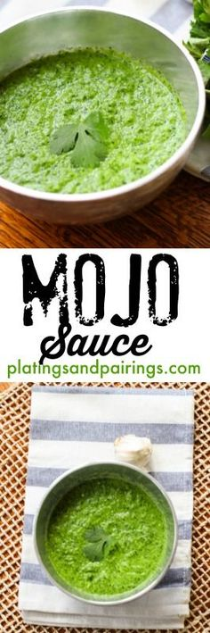 Mojo Sauce - The Perfect Topping for Seafood, Chicken, Steak, Roasted Veggies... !!! platingsandpairings.com