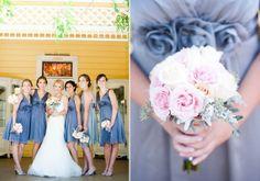 lavender bridesmaid dresses | photo by Candice Benjamin | 100 Layer Cake
