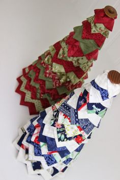 Mommy's Talking: No Sew Quilted Christmas Tree Pattern and Tutorial
