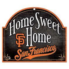 San Francisco Giants Home Sweet Home Wood Sign - MLB.com Shop