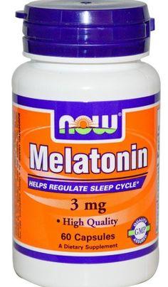 Melatonin 3 mg 60 Capsules Sleep Aid Relax Circadian Rhythms Cycle High Quality…