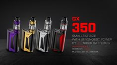GX350 Kit - SMOK® Being with you for all great vaping time!