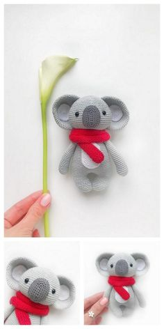 Educational and interesting ideas about amigurumi, crochet tutorials are here. Crochet Elephant Pattern Free, Crochet Teddy Bear Pattern, Crochet Bear, Afghan Crochet Patterns, Amigurumi Patterns, Free Crochet, Doll Patterns Free, Free Pattern, Crochet Baby Boots