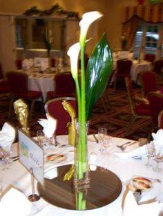 1000 images about flores on pinterest calla lilies - Precios de centros de mesa para boda ...