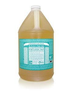 Dr. Bronners - Magic Pure-Castile Soap Organic Baby-Mild - 128 oz. - 1 Gallon Dr. Bronner's Magic Soaps http://www.amazon.com/dp/B0016IZ2DK/ref=cm_sw_r_pi_dp_96Y4ub1FAP83F