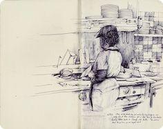 old sketchbook//new sketchbook PatPerry.net